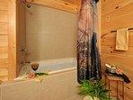 Bedroom 1 - Jacuzzi Bath