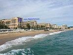 Appartement vue de la mer