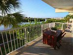 First Floor Balcony View of The Little Manatee River