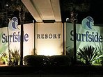 Surfside Resort at night