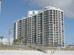 Surfside Resort from the Beach Side