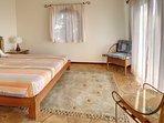 Casita upstairs king bedroom