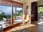Casita downstairs terrace