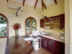 Casita kitchenette on the upper level, and has all the amenities for your use