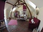 Chambre avec lit Queen size 2 personnes 160 x 200