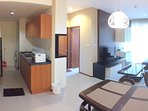 Full option of Kitchen Room and Washing machine