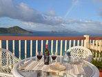 Enjoy a romantic dinner on your private deck while looking at the best views on point pleasant!