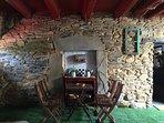Patio (corral) un lugar para tomar el fresco y charlar