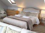 King size bed + pocket sprung matress +VIEWS
