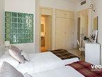 Bedroom 1 with an en-suite bathroom.