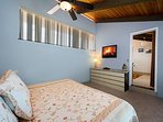 Upstairs Loft has a comfortable King Sized Bed!