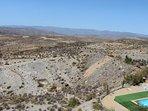 Views across the mountains