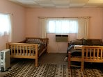 Bedroom 1, double/full and single/twin bed