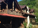 traditional house of rustic elegance