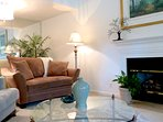 Comfortable sitting area to enjoy with friends and family!