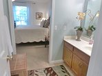 Separate Dressing area off Master Bedroom and bath