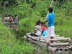 paseo en bote  Lago, Cocha Machuwasi salvacion