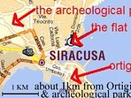 Strategical central position  in the he art of SYRACUSE nearby all the most important monuments