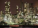 kawasaki factory area star wars lights  tokyo metropolitan expressway night view tour