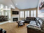 Modern home with a convenient location near great ski resorts!