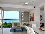 Spectacular sea view, Stay, Relax & Enjoy! Zazue Plaza one step & Bello Horionte beach at 2 blocks!