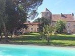 Chambre d'hôtes du Château de Pernan près de Pons
