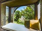 Window Nook Master Bedroom