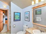 Beautiful Updated Bathroom On 2nd Floor With Oversized Closet