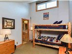Kids Love These Bunk Beds in Upstairs Bedroom #2