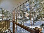 Just Smell The Trees and Clean Mountain Air From The Private Deck. Professionally Managed By iTrip Vacations