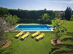 pool in stunning  gardens