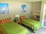 The two twin beds may be combined into a king. (sleeps 2)
