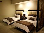 2 double beds or 1 king bed studio apartments