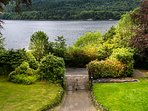 The Entrance Gates and Loch Long.