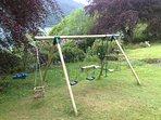 The Garden Swing.