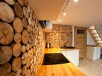 Original & modern kitchen (real wood)