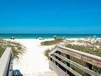 Beautiful Gulf Beaches Directly Across the Street