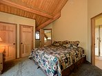 Plenty of closet space in the Master Bedroom and window with view + private balcony