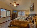Tahoe Woods Paradise - Master bedroom