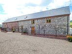 THE HAYLOFT, barn conversion, three bedrooms, one ground floor, private garden,