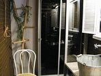 Salle de bain N° 2, 'comme dans un jardin'