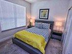 Downstairs Queen Bedroom w/Flat Screen TV