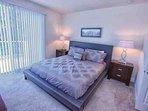 Upstairs King Master w/En-Suite Bathroom, Private Balcony & Flat Screen TV