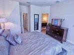 Upstairs King Master w/En-Suite Bathroom & Flat Screen TV - View #3
