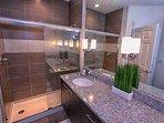 King En-Suite Bath w/Double Sinks & Walk In Shower - View #2