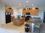Huge fully equipped kitchen