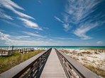 Boardwalk Down to the Beach