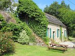 Our beautifully converted 3 bedroom Barn, with shared pool and large gardens