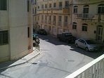 View from Balcony/Short street to the center