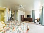 Spacious Bedroom, King Bed